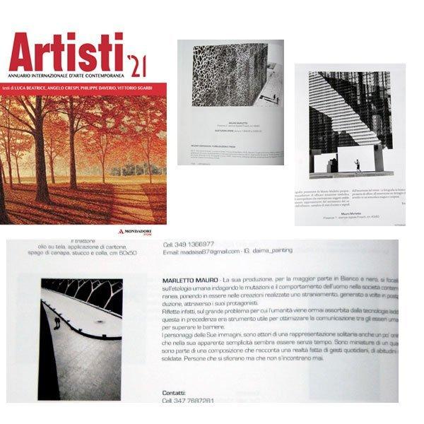 Artisti '21. Annuario internazionale d'arte contemporanea
